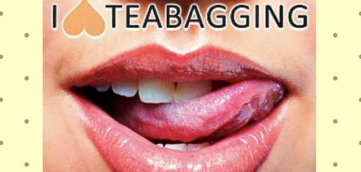 What exactly is teabagging